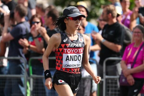 2度目のマラソンを終え、安藤は敗因を「弱い気持ちが出たこと」と分析する