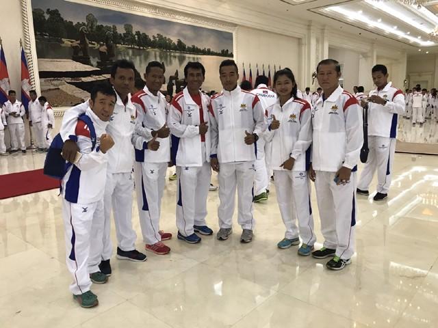 猫さんは今月19日に開催される東南アジアのオリンピック「SEAGAMES」にもカンボジア代表として出場!