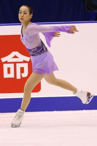 闘病中は自身が憧れる浅田(写真)の演技を見て、スケートへの気持ちを高めていた
