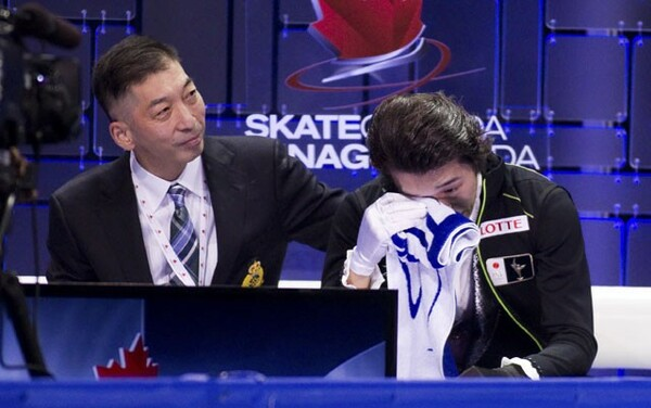 14−15シーズンのスケートカナダでは自己ベストを大幅に更新。苦しい時期を乗り越え、会心の演技を披露できたことに涙を抑えられなかった