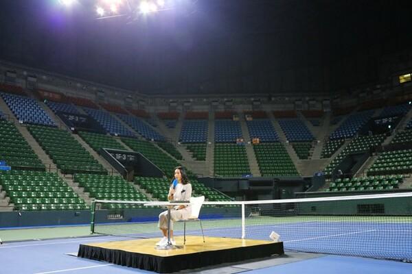 「最後に戦う場所は東京にしたい」ということで、有明で行われるジャパン女子オープンに決めた