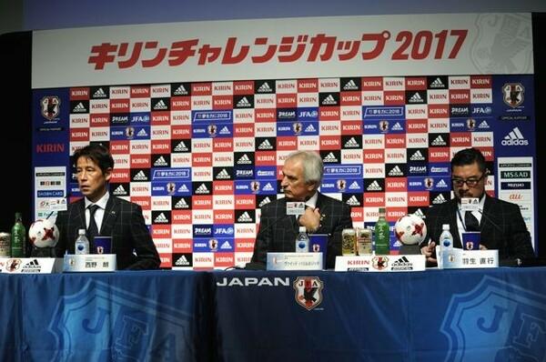国際親善試合、ニュージーランド戦とハイチ戦のメンバー発表が行われた