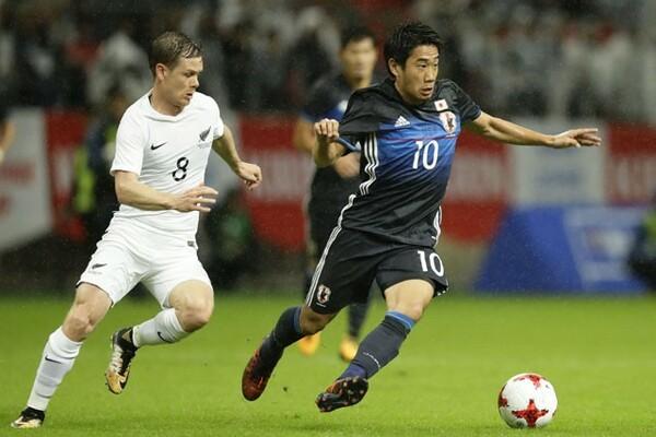 香川はニュージーランド戦を「評価しづらいゲーム」と表現し、不満をもらした
