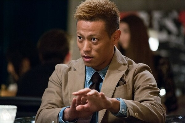 Jリーグの村井チェアマンとの対談に向け、「ハングリー精神を維持するために朝食を抜いてきた」と本田