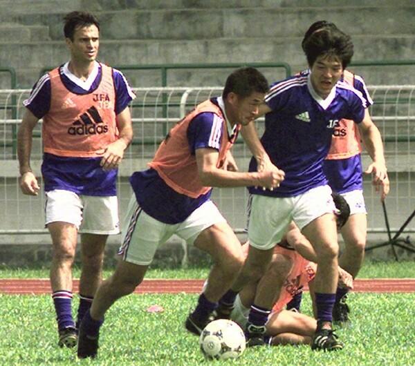 日本代表がキャンプを張ったのは、試合会場のあるジョホールバルではなく、首都のクアラルンプールだった