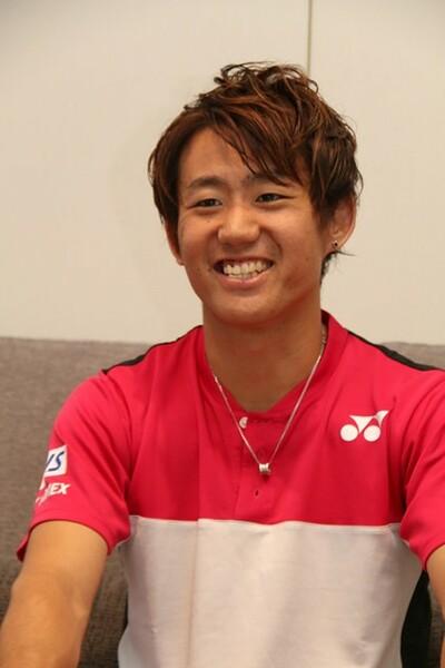 絶好調時の大けがに見舞われた西岡。それでも下は向かず、復帰までの時間をテニスにプライベートにと積極的に活用した