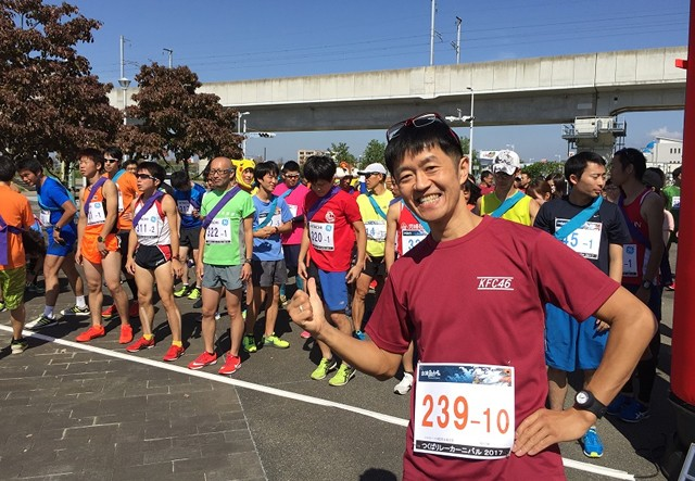 新たな目標は、茨城県つくば市の「つくばリレーカーニバル2017」!