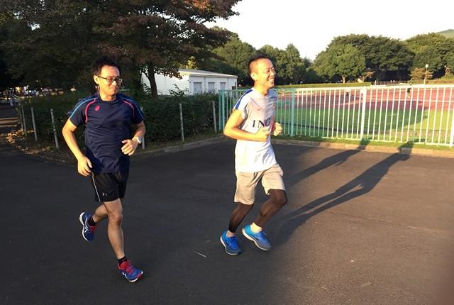 """それぞれ、体力増進&走力アップを目指し、準備期間を""""走り""""ます。"""