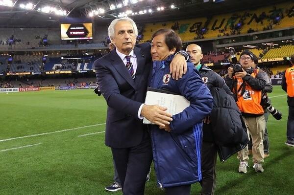 ハリルホジッチ監督の招へいにも大きく関わった霜田。現在はSTVVのセカンドチームでコーチを務めている