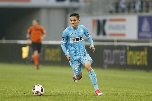 「久保(写真)や森岡などが活躍しているように、日本人選手はベルギーでも十分通用する」と霜田は話す