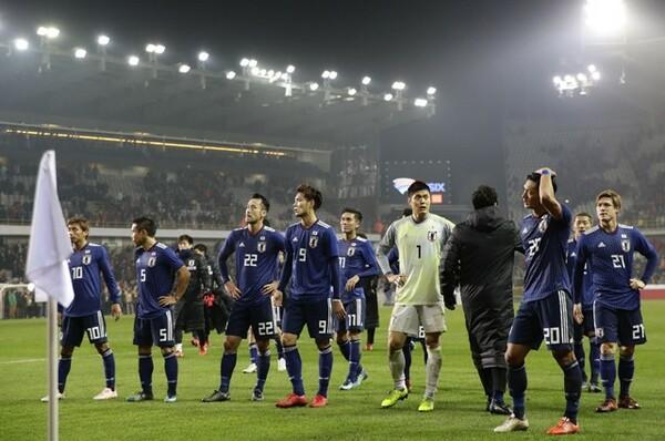 日本はベルギーに0−1で敗れ、欧州遠征を2敗で終えた