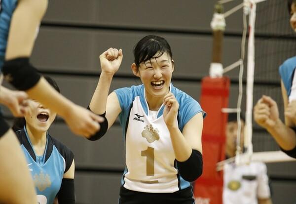 全日本に選ばれ、東京五輪での活躍も期待される井上愛里沙(筑波大4年)