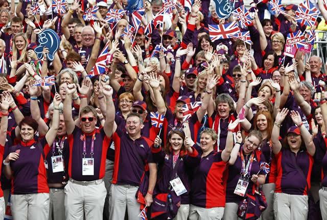 2012年のロンドン大会では「ゲームズメーカー(大会をつくり上げる人)」と呼ばれるボランティアの人々が活躍。大会を大成功に導き、そのレガシーは今も受け継がれている
