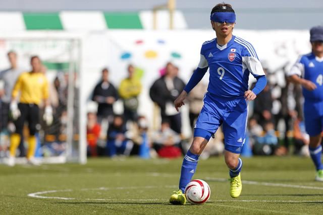 ブラインドサッカー日本代表の加藤健人。ブラサカとの出会い、東京パラリンピックへの意気込みを存分に語った
