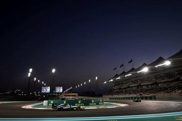 トワイライトレースとして開催される今季の最終戦アブダビGP