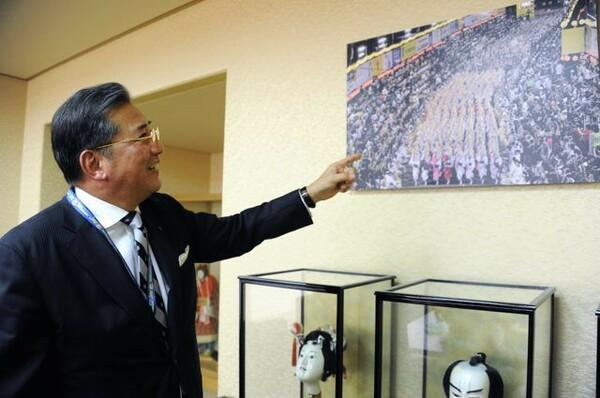 徳島の初代GMだった米田豊彦(現徳島新聞社社長)は「ヴォルティス連」の発案者でもある