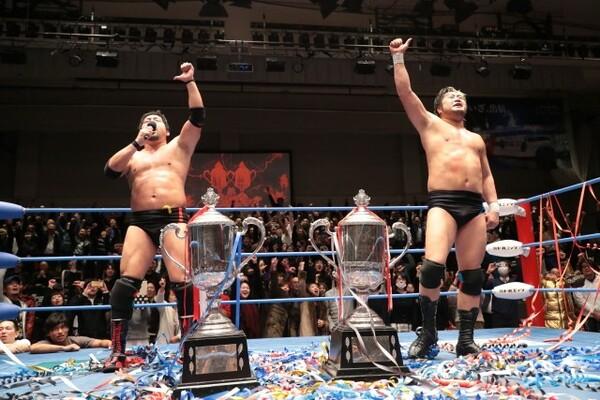 全日本の今年最後となる聖地興行では、最強タッグリーグ最終戦の熱戦が展開された