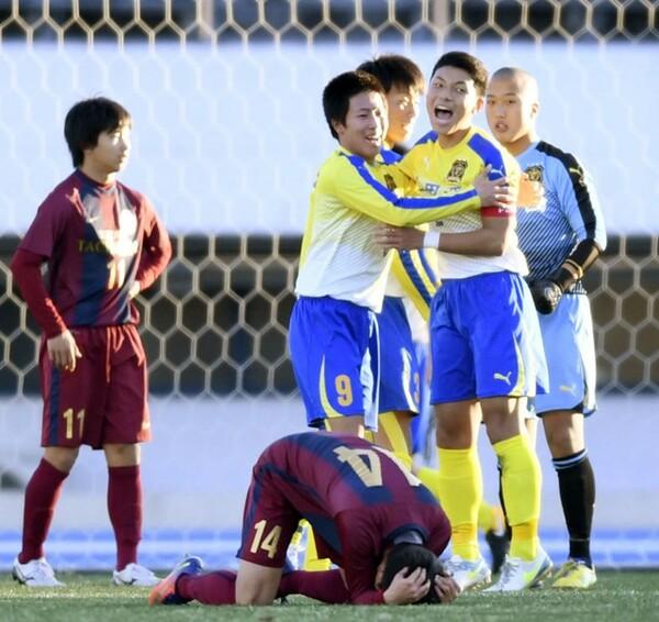 上田西が1−0で京都橘を破り、選手権初得点・初勝利という新たな歴史を作った