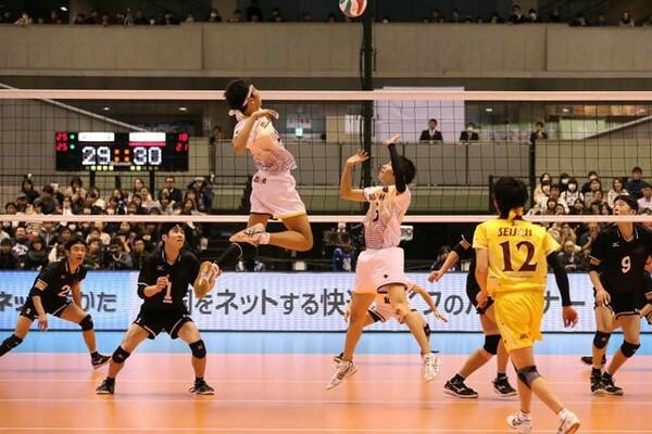 準決勝の東福岡戦は、大接戦の末に星城が競り勝った