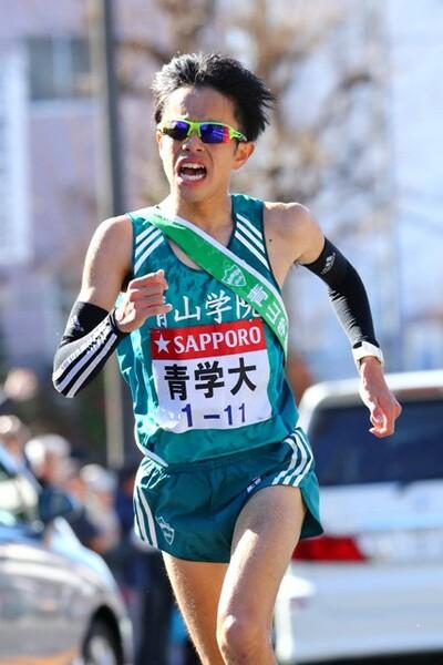 エース下田は3年連続で8区区間賞を獲得