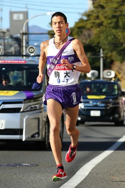 7区でトラブルの駒澤大・工藤は卒業後も将来が期待されるランナー