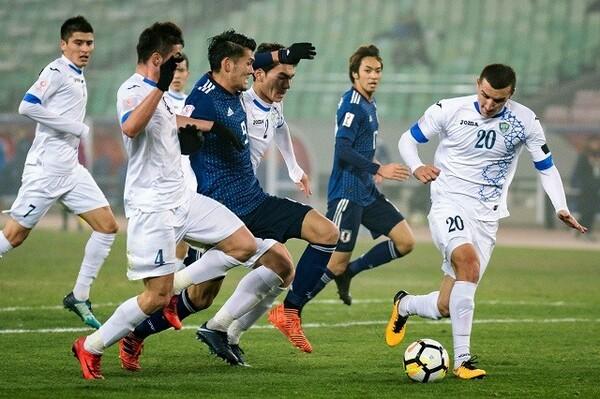 「ヨーロッパスタイル」のサッカーを志向するウズベキスタン。15年のU−20W杯では8強入りを果たすなど、力を見せてきた