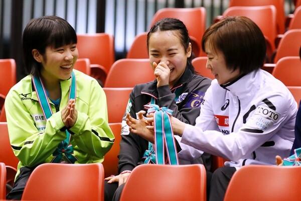 20年東京五輪に向けて、平野(左)や石川(右)といったライバルたちとの争いも熾烈になっていくだろう