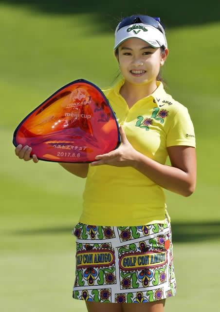 大好きな愛媛にゴルフで恩返しを 黄金世代生まれ河本結、五輪への覚悟(4)