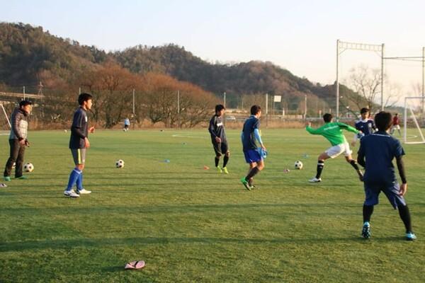 昨年インハイに初出場した近江高校は、分析にスマホアプリを取り入れている