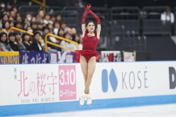 ロシアと北米でジャンプの跳び方が違うという。ロシアの選手は高く跳ぶ傾向が強い