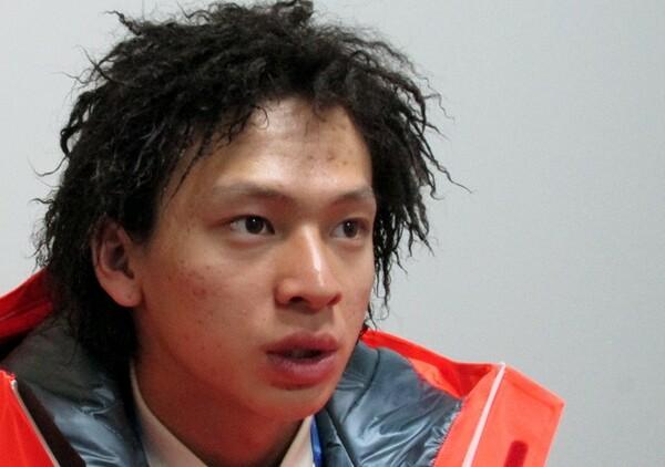 銀メダル獲得から一夜明け、平野は落ち着いた口調で今の気持ちを語った