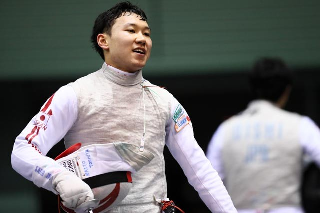 長野県出身、フェンシング・フルーレの西藤俊哉を紹介する