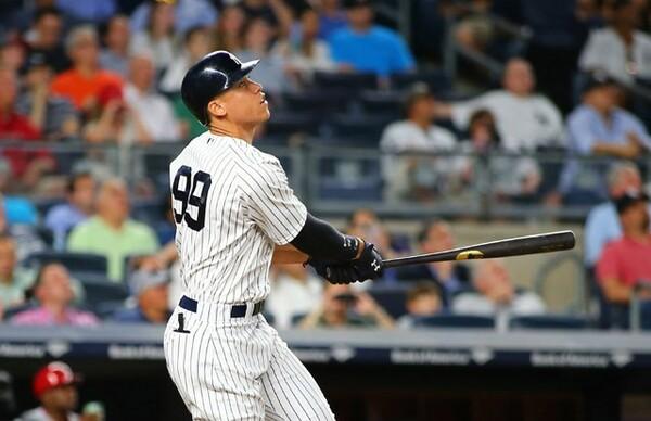 ニューヨークなどの大都市には2球団が本拠地を置く。写真はヤンキースの若き主砲・ジャッジ