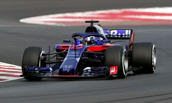 バルセロナでのテストでは10チーム中3位となる距離を走行したトロロッソ・ホンダ
