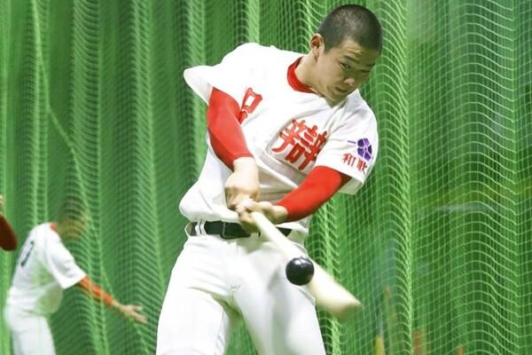 名将・高嶋監督もその能力の高さを認めるスラッガー林(智弁和歌山)。昨夏の甲子園でも本塁打を放っている