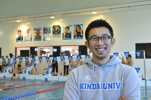 2004年アテネ五輪の競泳代表キャプテンを務めた近畿大の山本貴司監督。指導者となった今、強い日本代表選手が育つために大切なことを語ってくれた