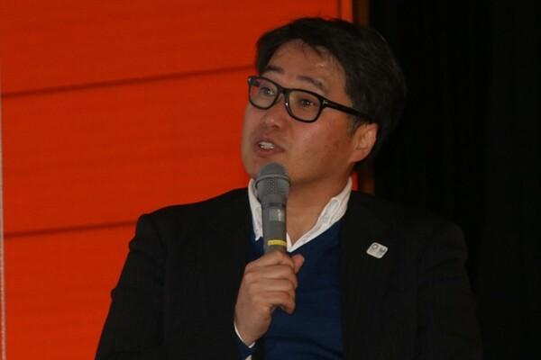 第81回のみなとフォーラムには大阪経済大学人間科学部の相原正道教授が登壇した