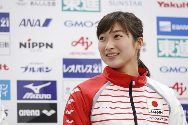 出場4種目すべてで日本新記録を出した池江璃花子