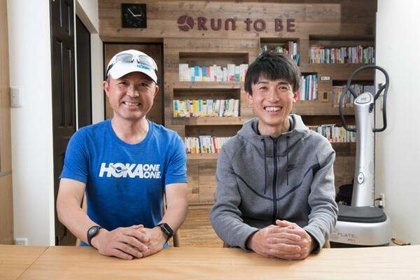 マラソン解説者の金哲彦さん(左)とウルトラランナーの高田由基さんがウルトラマラソンをテーマに語り合った