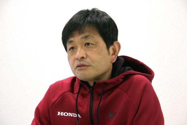 大澤監督はHondaの特徴として練習サイクルの短さを挙げる