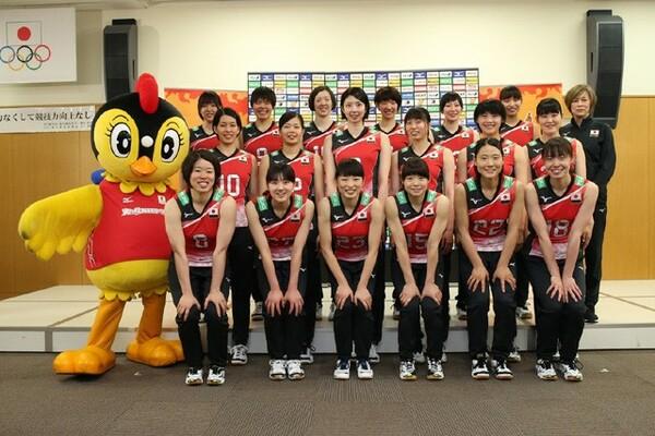 2018年度の全日本女子メンバー18名が、新シーズンに向けて抱負を語った