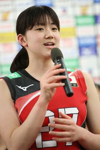 今年度、全日本に初選出された戸江真奈