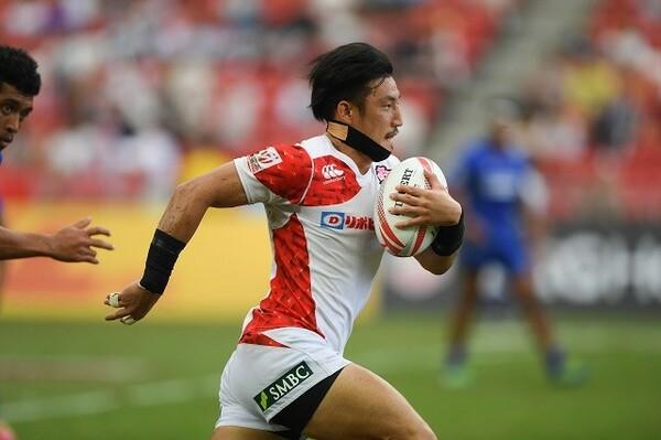 セブンズ経験が豊富な小澤が、2人目の専任契約選手となった