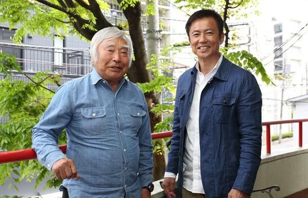 極限を知る三浦雄一郎さん(左)と山本光宏さんが、夢へ向かうエネルギーの源について語り合った
