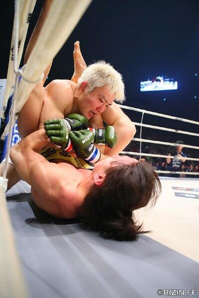 年末にレジェンドファイターである五味隆典を破り、これからは「70キロ級の顔」として日本の格闘技界を引っ張る