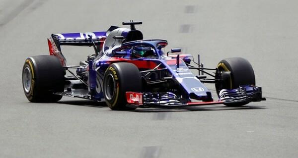 F1初ポイントを獲得したトロロッソのハートレー