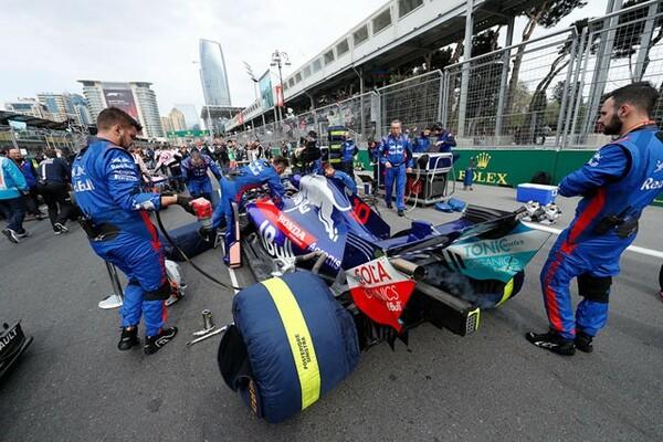 アゼルバイジャンGP決勝、ピエール・ガスリーは12位で終えた