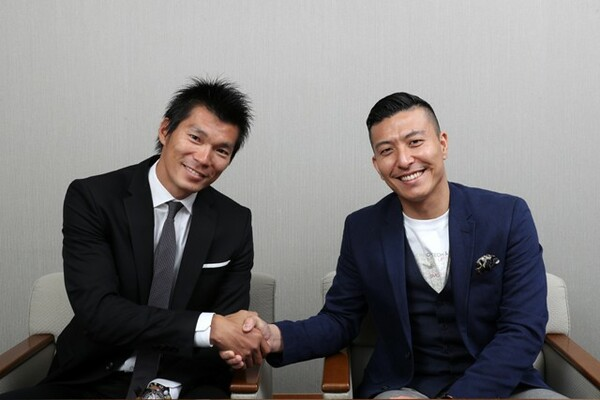 今年38歳を迎える同士の澤野大地(左)と寺内健が本音を語り合った