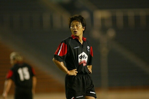 現役時代の岩渕氏。08年には7人制日本代表のコーチを務めた経験を持つ