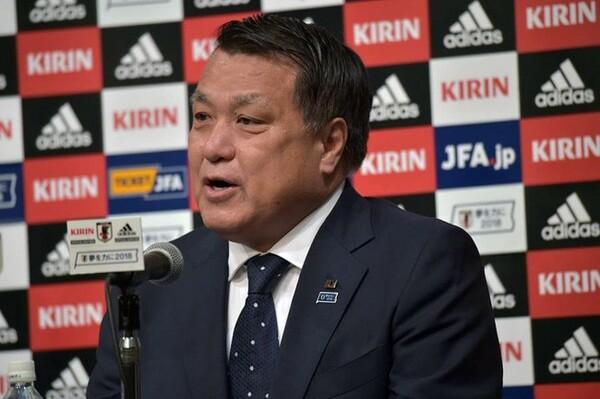 田嶋会長は国民の声援・サポートを求めた